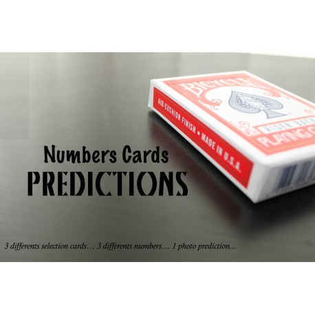 Numbers Cards Predictions
