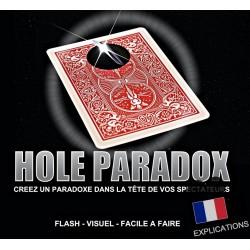 HOLE PARADOX