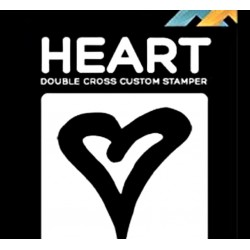 TAMPON DOUBLE CROSS - COEUR