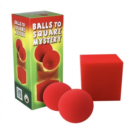 BALL TO SQUARE MYSTERY (Cube en Mousse)