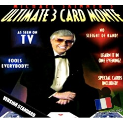 Ultimate 3 Card Monte By Michael Skinner - Version Standard