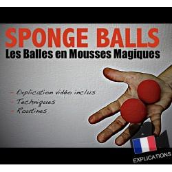 Balles Mousse (Sponge Balls)