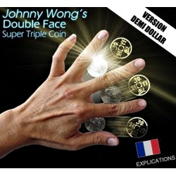Super Triple Coin Double Face - Johnny Wong