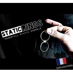 tour de télékinésie STATIC RINGS les anneaux magiques