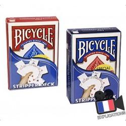 Jeu Biseauté (Stripper Deck) Qualité Bicycle