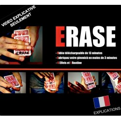 VIDEO Erase - Video Seulement