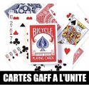 CARTES GAFF (TRUQUEES) A L'UNITEE