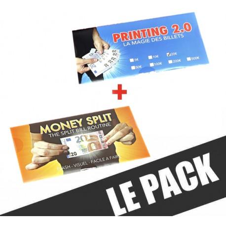 PACK BILLETS (PRINTING 2.0 + MONEY SPLIT)