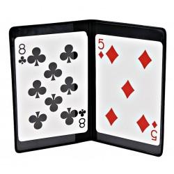 CARDS HOLDER - SECRET COMPARTIMENT