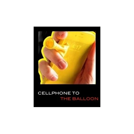Cellphone to the balloon