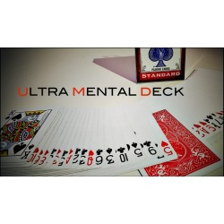 Ultra Mental Deck (jeu invisible, invisible deck)