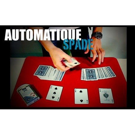 tour de magie carte automatique
