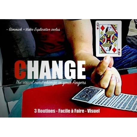 Tour de magie gimmick CHANGE