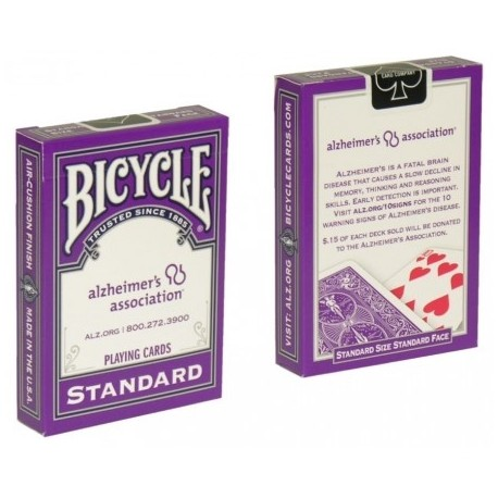 Cartes Bicycle - Alzheimer