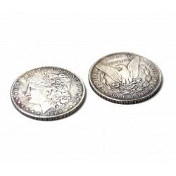 Pièces Dollar Morgan - Version Magnétique