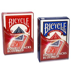 Cartes Bicycle Double Dos (Rouge/Bleu)