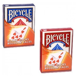 Cartes Bicycle Dos Blanc