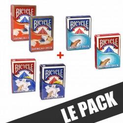 Pack Jeux de cartes Truqués