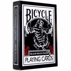 Cartes Biycle Black Tiger Red - Ellusionist