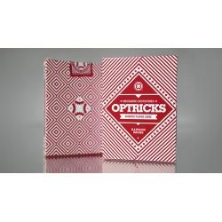 Cartes Mechanic Optricks (rouge) Deck