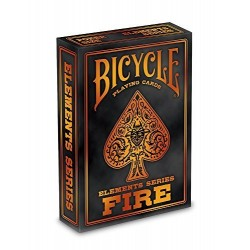 Cartes Bicycle Fire Elements Series