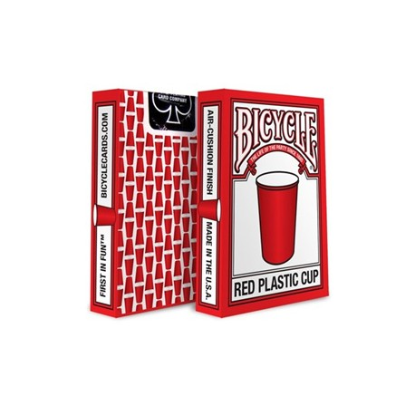 Cartes Bicycle Red Plastic Cup
