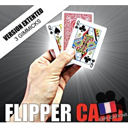 FLIPPER CARD - VERSION EXTENTED (3 GIMMICKS)
