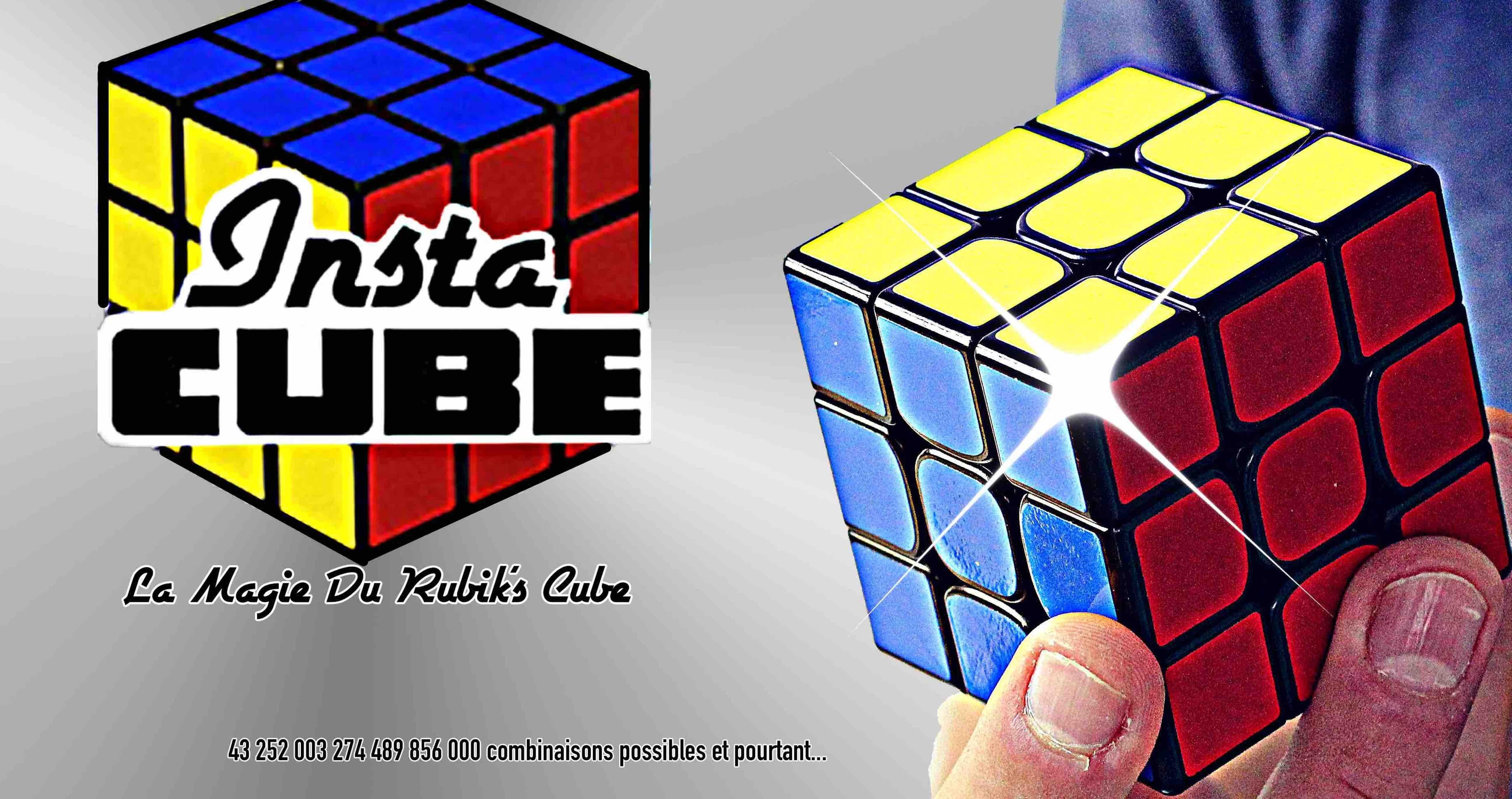 Tour de Magie INSTA CUBE - RUBIKS CUBE MAGIQUE